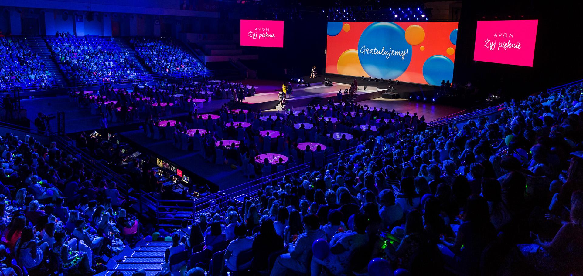 Konferencja AVON – Żyj pięknie - 2500 wspaniałych gości
