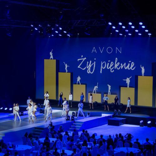 Konferencja AVON – Żyj pięknie - energetyczne Fashion Show
