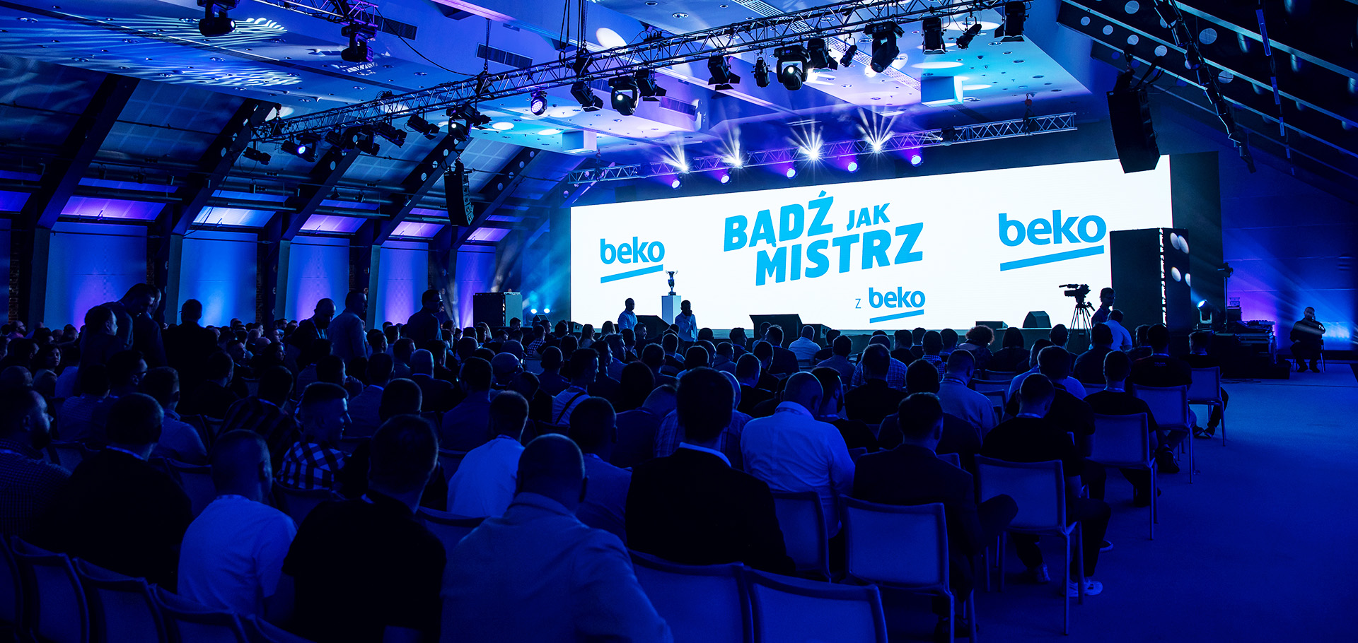 Konferencja produktowa BEKO – scenografia