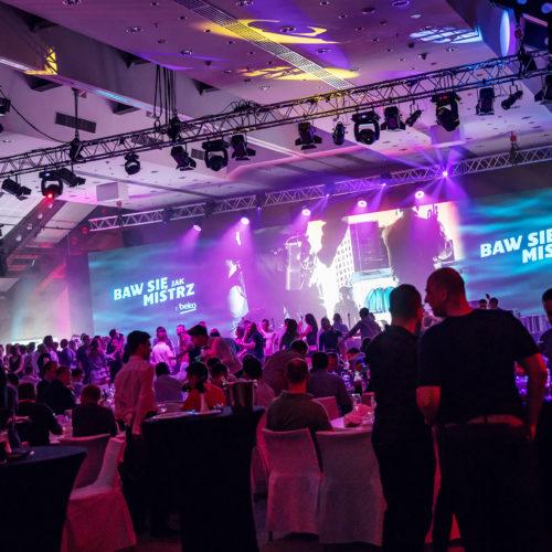 Konferencja produktowa BEKO – ekran diodowy o powierzchni 72 m2