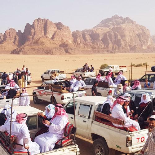 Jordania - wyjazd na pustynię Wadi Rum 4x4